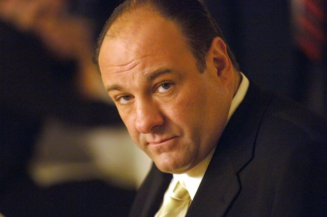 James Gandolfini alias Tony Soprano